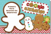 Cookie Exchange - Personalized Christmas Placemats