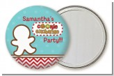 Cookie Exchange - Personalized Christmas Pocket Mirror Favors