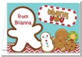 Cookie Exchange - Christmas Thank You Cards