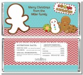Cookie Exchange - Personalized Christmas Candy Bar Wrappers