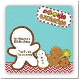 Cookie Exchange - Square Personalized Christmas Sticker Labels