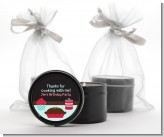 Cooking Class - Birthday Party Black Candle Tin Favors