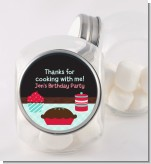 Cooking Class - Personalized Birthday Party Candy Jar