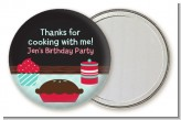 Cooking Class - Personalized Birthday Party Pocket Mirror Favors