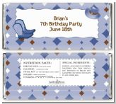 Cowboy Western - Personalized Birthday Party Candy Bar Wrappers