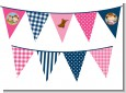 Little Cowgirl - Baby Shower Themed Pennant Set thumbnail