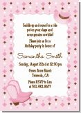 Cowgirl Western - Birthday Party Invitations