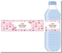 Cowgirl Western - Personalized Baby Shower Water Bottle Labels