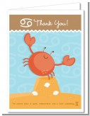 Crab | Cancer Horoscope - Baby Shower Thank You Cards