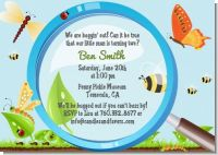 Critters Bugs & Insects - Birthday Party Invitations