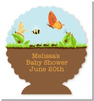 Critters Bugs & Insects - Personalized Baby Shower Centerpiece Stand