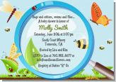 Critters Bugs & Insects - Baby Shower Invitations