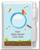 Critters Bugs & Insects - Baby Shower Personalized Notebook Favor