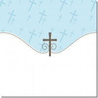 Cross Christening Theme
