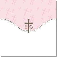 Pink Baptism Theme Ideas