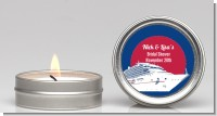 Cruise Ship - Bridal Shower Candle Favors