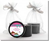 Cupcake Trio - Birthday Party Black Candle Tin Favors