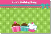 Cupcake Trio - Personalized Birthday Party Placemats