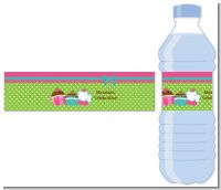 Cupcake Trio - Personalized Birthday Party Water Bottle Labels