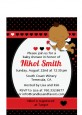 Cupid Baby Valentine's Day - Baby Shower Petite Invitations thumbnail