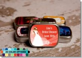 Custom Bride - Personalized Bridal Shower Mint Tins