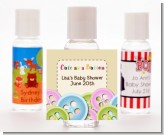 Cute As a Button - Personalized Baby Shower Hand Sanitizers Favors