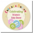 Cute As a Button - Personalized Baby Shower Table Confetti thumbnail