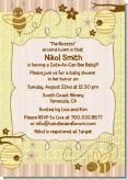 Cute As Can Bee - Baby Shower Invitations