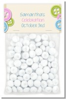 Cute As a Button - Custom Baby Shower Treat Bag Topper