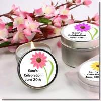Daisy - Bridal Shower Candle Favors