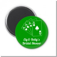 Deck of Cards - Personalized Bridal Shower Magnet Favors