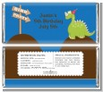 Dinosaur - Personalized Birthday Party Candy Bar Wrappers thumbnail