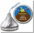 Dinosaur - Hershey Kiss Birthday Party Sticker Labels thumbnail