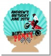 Dirt Bike - Personalized Birthday Party Centerpiece Stand thumbnail