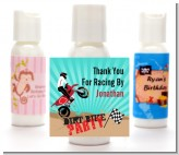 Dirt Bike - Personalized Birthday Party Lotion Favors