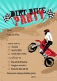 Dirt Bike - Birthday Party Fill In Thank You Cards thumbnail
