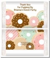 Donut Party - Personalized Popcorn Wrapper Birthday Party Favors