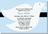 Dove Blue - Baptism / Christening Invitations