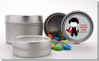 Dracula - Custom Halloween Favor Tins