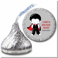 Dracula - Hershey Kiss Halloween Sticker Labels