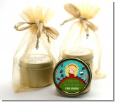 Dreaming of Sweet Treats - Christmas Gold Tin Candle Favors