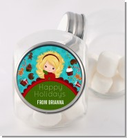 Dreaming of Sweet Treats - Personalized Christmas Candy Jar