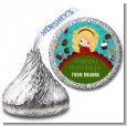 Dreaming of Sweet Treats - Hershey Kiss Christmas Sticker Labels thumbnail