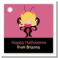 Dress Up Butterfly Costume - Personalized Halloween Card Stock Favor Tags thumbnail