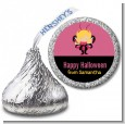 Dress Up Butterfly Costume - Hershey Kiss Halloween Sticker Labels thumbnail