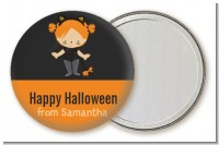 Dress Up Kitty Costume - Personalized Halloween Pocket Mirror Favors