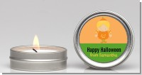 Dress Up Pumpkin Costume - Halloween Candle Favors