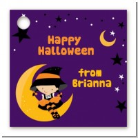 Dress Up Witch Costume - Personalized Halloween Card Stock Favor Tags