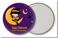 Dress Up Witch Costume - Personalized Halloween Pocket Mirror Favors