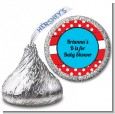 Dr. Seuss Inspired - Hershey Kiss Baby Shower Sticker Labels thumbnail